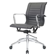 Pastel Furniture Bucharest Executive Office Chair; Black