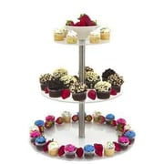 Buffet Enhancements 3 Tier Food Riser Tiered Stand; Clear