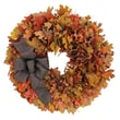 Urban Florals Autumn Harvest Sunrise Wreath; 22'' H x 22'' W x 4'' D
