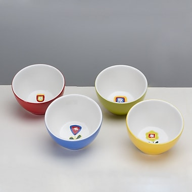 Omniware Jardin Matisse Assorted Bowl (Set of 4)