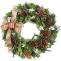 Urban Florals Autumn Copper Fall Wreath; 18'' H x 19'' W x 4.5'' D