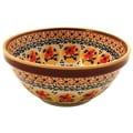 Polish Pottery Pattern DU70 16 oz. Soup / Cereal Bowl
