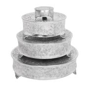 Aspire 4 Piece Round Cake Stands Set