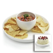 Home Essentials and Beyond 12.25'' Chip & Dip Server