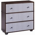 Stein World Pippin Ticking 3 Drawer Chest