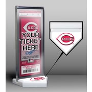That's My Ticket Home Plate Ticket Display Stand; Cincinnati Reds
