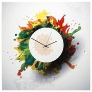 Metal Art Studio 22'' Splatter Wall Clock