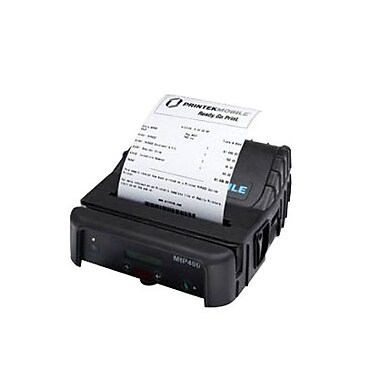 Printek® MtP400 Direct Thermal Portable Label Printer with MCR/Infrared RAM, 203 dpi, 3.30 ips (91818)