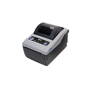 Okidata® LD610TT Monochrome Parallel Thermal Transfer Label Printer, 203 dpi, 4 ips (62306801)
