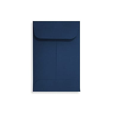 LUX #1 Coin Envelopes (2 1/4 x 3 1/2) 500/Box, Navy (LUX-1CO-103-500)