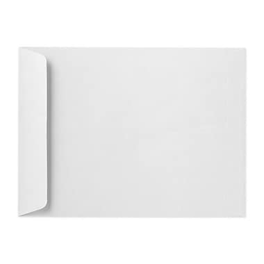 LUX™ 80 lb 9in. x 12in. Open End White Linen Envelopes