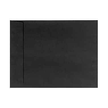 LUX 9 x 12 Open End Envelopes 500/Box, Black Linen (4894-BLI-500)