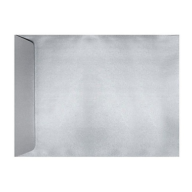 LUX 6 x 9 Open End Envelopes 250/Box, Silver Metallic (1644-06-250)