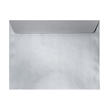 LUX 6 x 9 Booklet Envelopes 250/Box) 250/Box, Silver Metallic (4820-06-250)