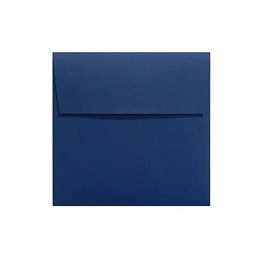 LUX Peel & Press 6 1/4 x 6 1/4 Square Envelopes 50/Pack, Navy Blue (LUX-8530-103-50)