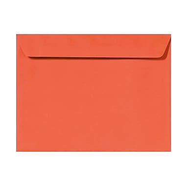 LUX 6 x 9 Booklet Envelopes 1000/Box) 50/Box, Tangerine (LUX-4820-112-50)