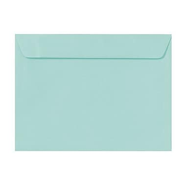 LUX 9 x 12 Booklet Envelopes 250/Box, Seafoam (LUX-4899-113-50)