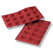 """Schneider Silicone Pyramid Baking Mold 0.5"""""""