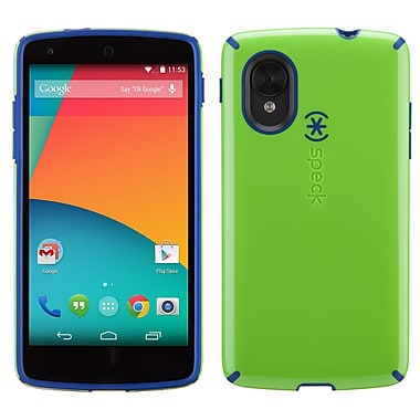 Speck Candyshell LG Nexus 5 Cover, Tennis Ball Green/Cadet Blue
