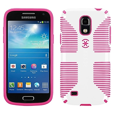 Speck Candyshell Samsung Galaxy S4 Mini Grip Cover, White/Raspberry Pink