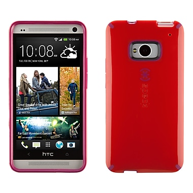 Speck Candyshell HTC M7 Cover, Poppy Red/Fuschia Pink