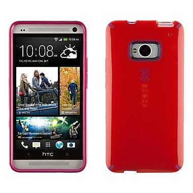 Speck - Étui Candyshell HTC M7, rouge coquelicot/rose fuchsia