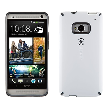 Speck Candyshell HTC M7 Cover, White/Slate