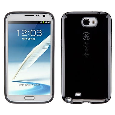Speck Candyshell Samsung Galaxy Note II Cover, Black/Slate Grey