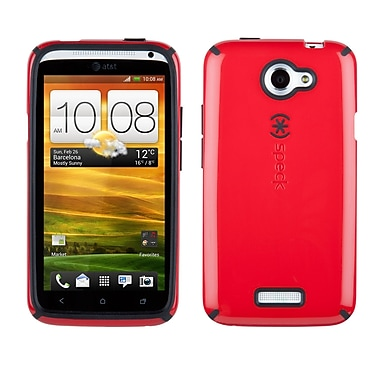 Speck Candyshell HTC One X Cover, Red/Black