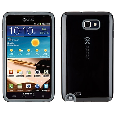 Speck Candyshell Samsung I717 Galaxy Note Cover, Black/Dark Grey