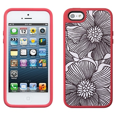 Speck Fabshell iPhone 5 Case, Freshbloom Coral Pink/Black