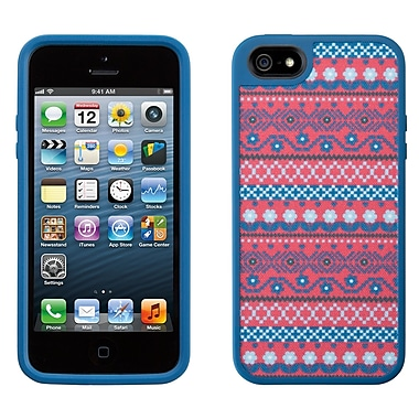 Speck – Étui Fabshell pour iPhone 5, Digitribe rose/bleu
