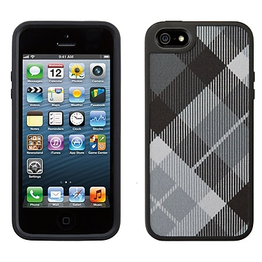 Speck Fabshell iPhone 5 Case, Megaplaid Black