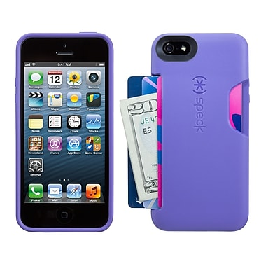 Speck Smartflex iPhone 5 Card Case, Grape