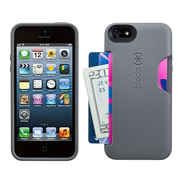 Speck Smartflex iPhone 5 Card Case, Graphite