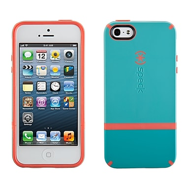 Speck Candyshell iPhone 5 Flip Cover, Dark Pool/Wild Salmon