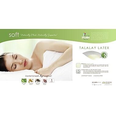 PureCare by Fabrictech Plush Latex Pillow; Queen 28''