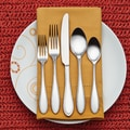 Rachael Ray 20-Piece Pinwheel Flatware Set