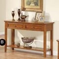 Winners Only, Inc. Topaz Console Table; Cinnamon
