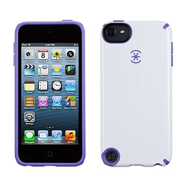 Speck Candyshell iPod Touch 5, White/Grape Purple