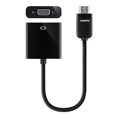 Belkin F2CD058 HDMI to VGA Adapter Cable, Black