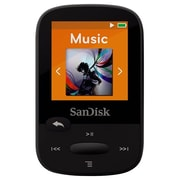 SanDisk® SDMX24 1.44 4GB Clip Sport Portable MP3 Player, Black