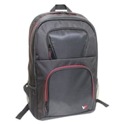 V7® Vantage 2 Backpack For 16.1 Notebook, Red/Black