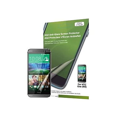 Green Onions Supply® Anti-Glare Screen Protector For HTC One M8, Matte