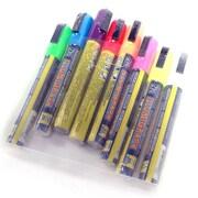 Ensemble de marqueurs à craie, couleurs fluorescentes, 7 po x 5 po x 1 po, paq./8