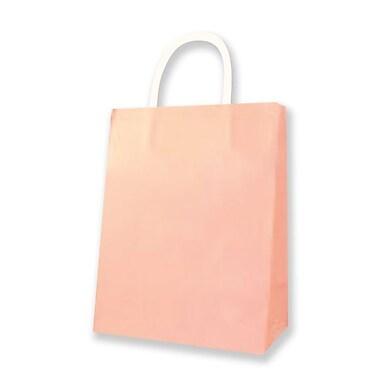 Medium Kraft Bag, Pink, 12/Pack