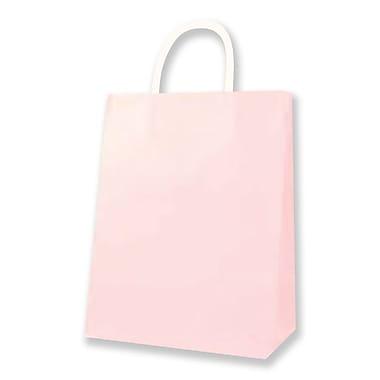 Medium Kraft Bag, Light Pink, 12/Pack