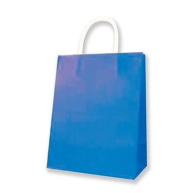 Medium Kraft Bag, Royal Blue, 12/Pack