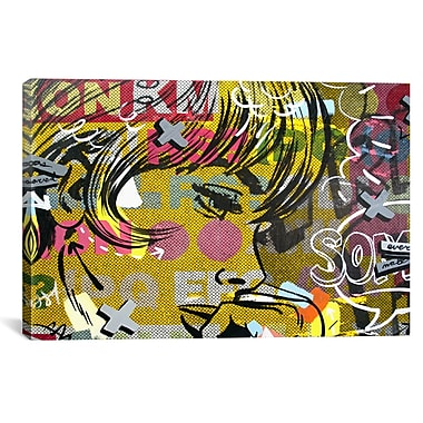 iCanvas Every Sometimes by Dan Monteavaro Graphic Art on Wrapped Canvas; 26'' H x 40'' W x 0.75'' D