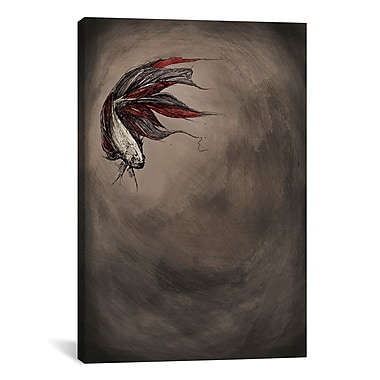 iCanvas 'Samsara' by Marc Allante Painting Print on Wrapped Canvas; 40'' H x 26'' W x 0.75'' D